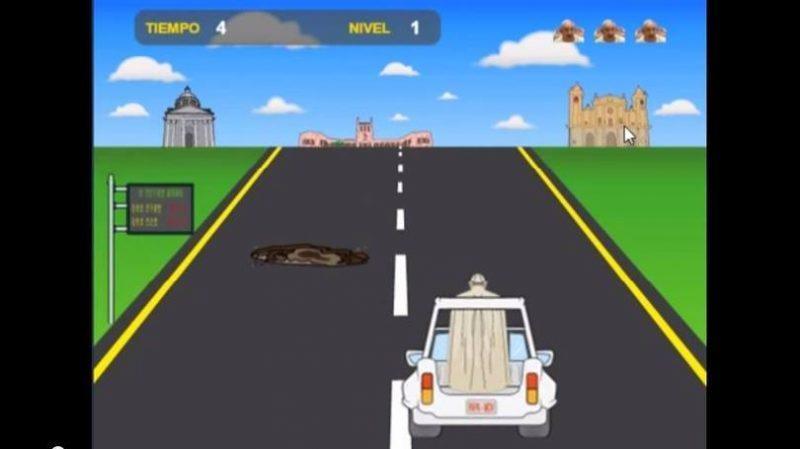 Jogo Papa Road