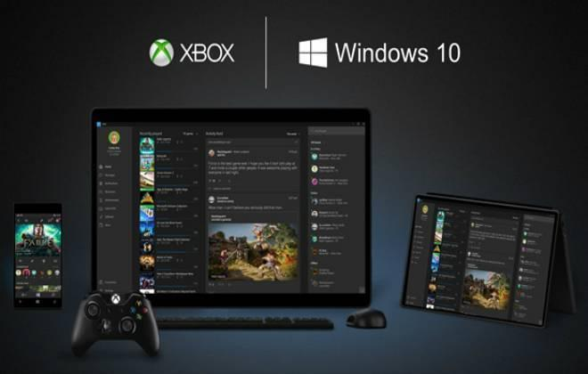 Xbox One e Windows 10